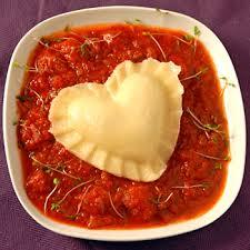 heart ravioli