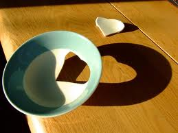broken heart bowl
