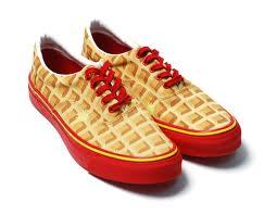 waffle shoes