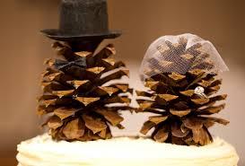 pinecone wedding