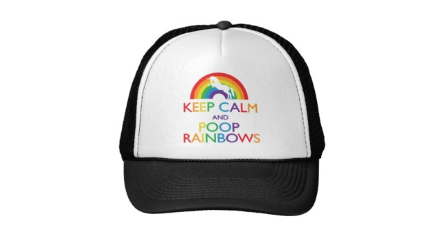 keep_calm_and_poop_rainbows_unicorn_trucker_hat-r247c2859549446068191131e2876ecdf_v9wfy_8byvr_630