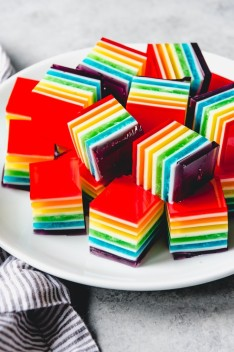 jello rainbow